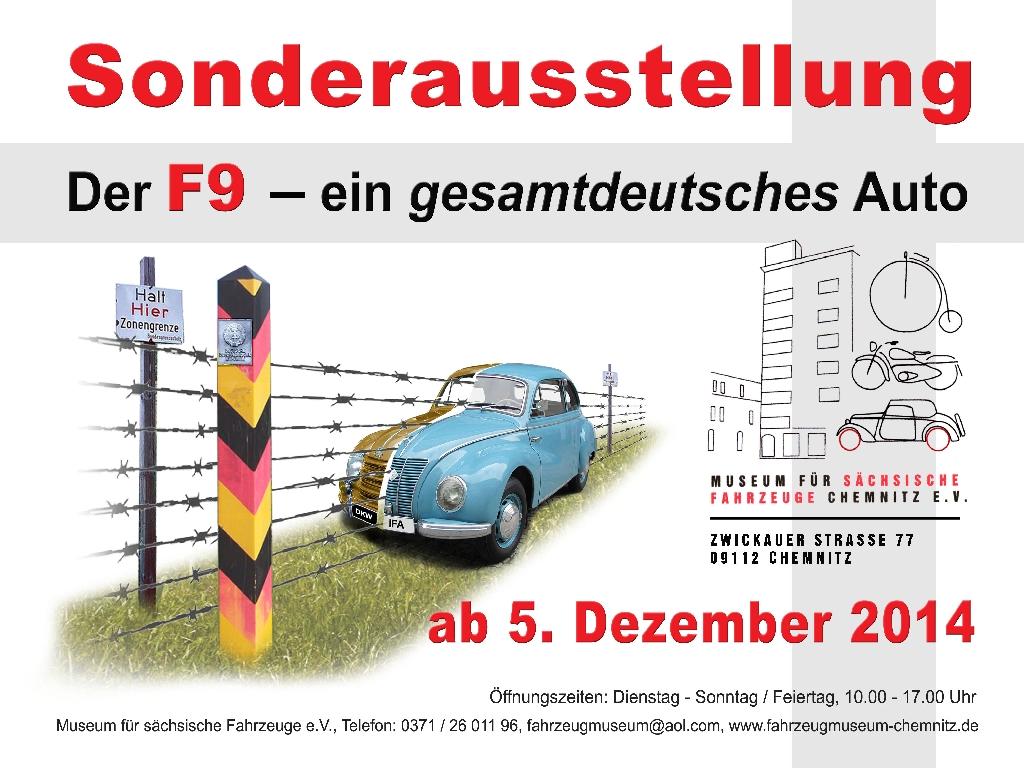 F9-Ausstellungsplakat