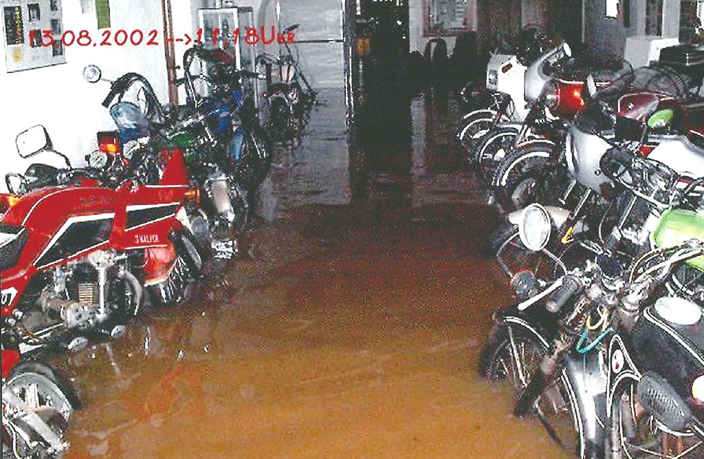 Hochwasser Sonderausstellung Klaffenbach