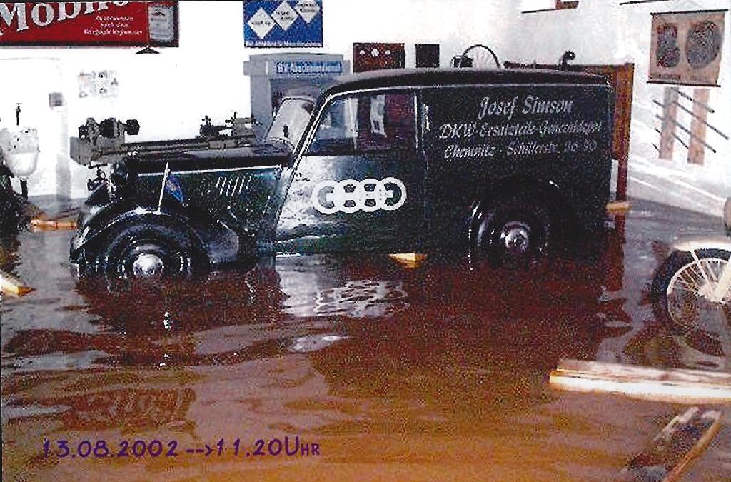 Hochwasser Klaffenbach