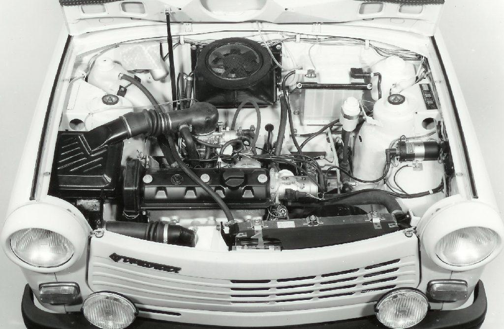 Trabant 1.1 Motorraum