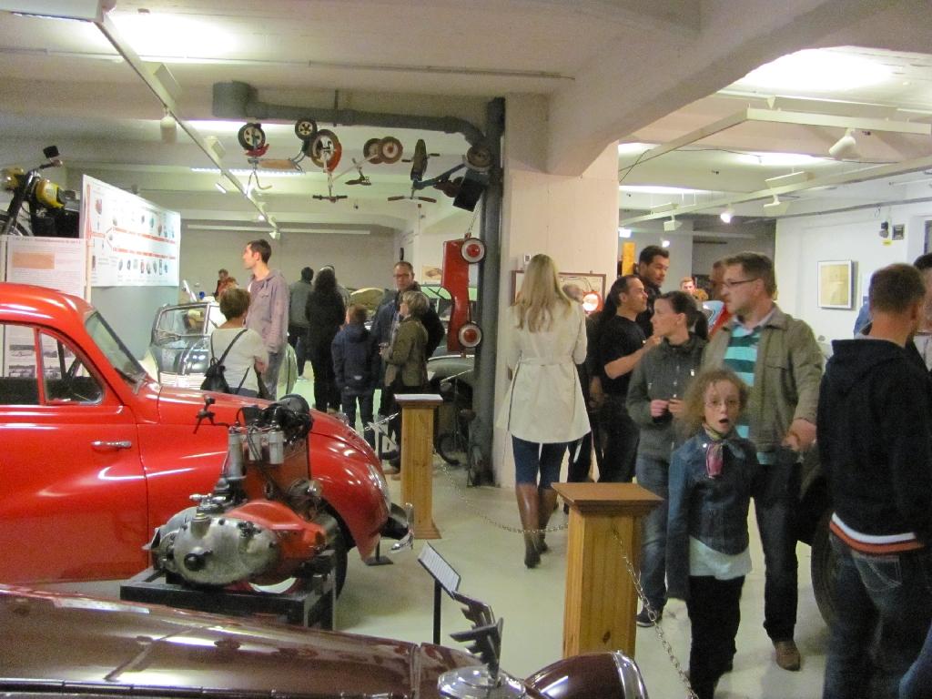 Besucherandrang im Museum