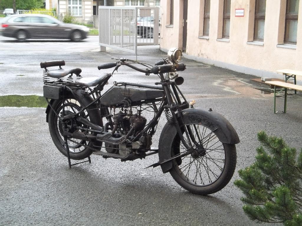 schwarzesWanderer Motorrad