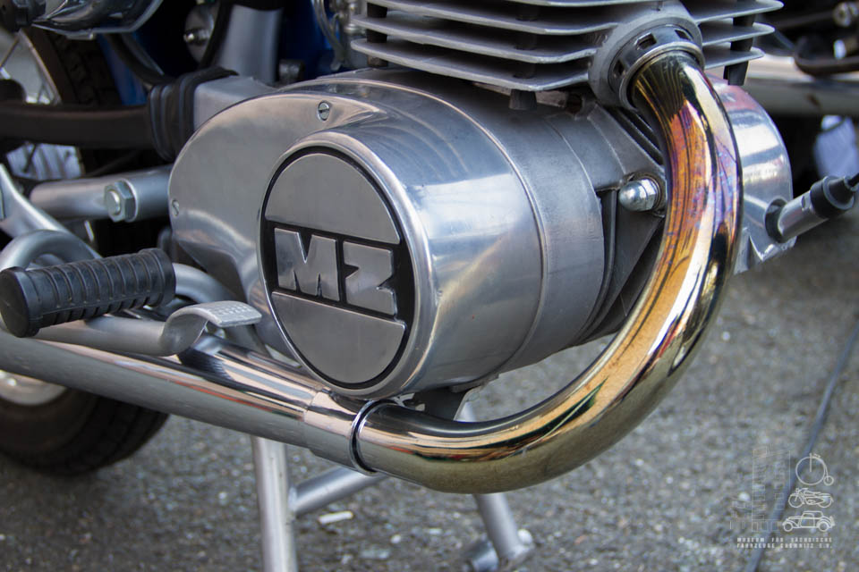Nahaufnahme MZ Motor
