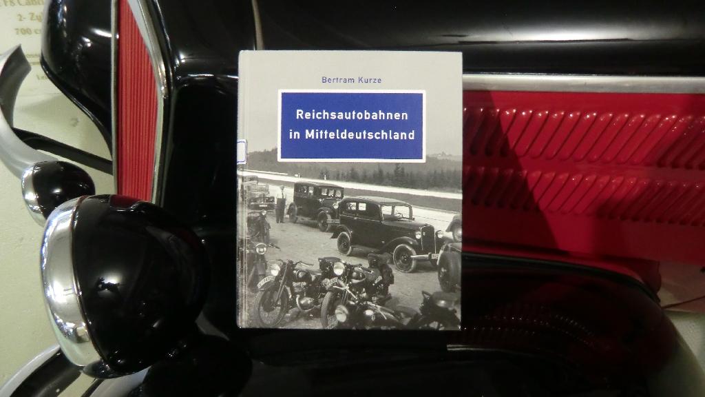 Buch Reichsautobahnen in Mitteldeutschland