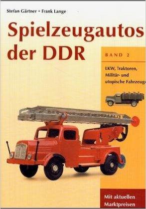 Spielzeugautos der DDR Cover