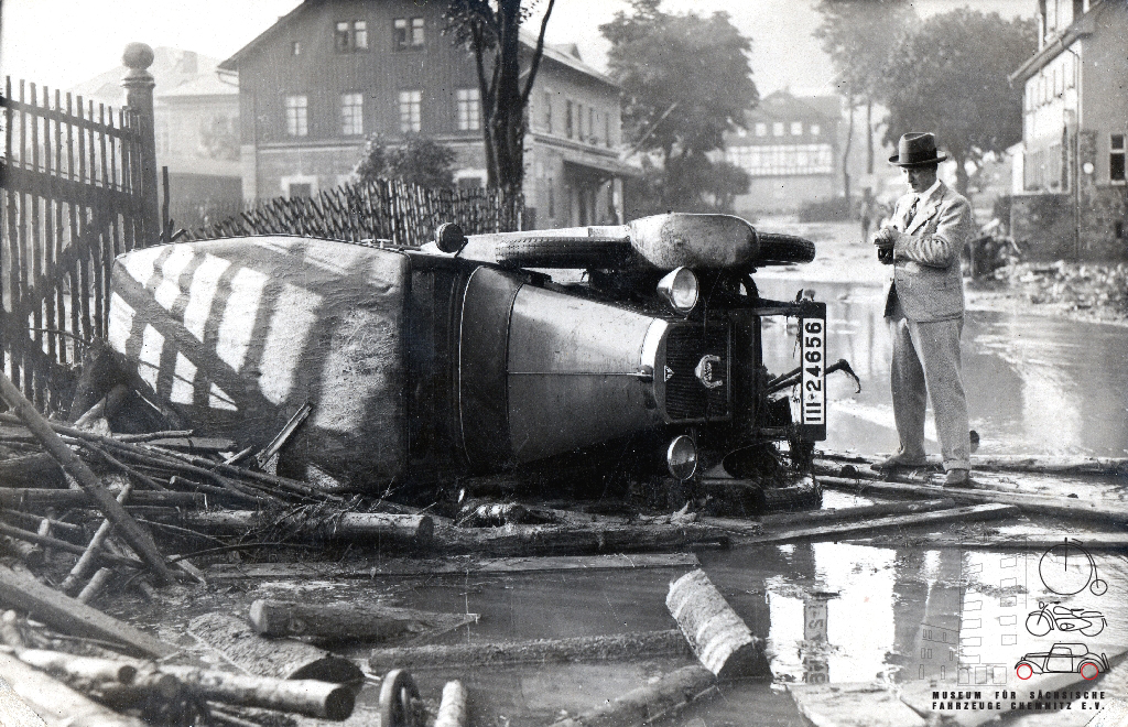 Zerstörte Träume - Unfallfotos aus der Vorkriegszeit