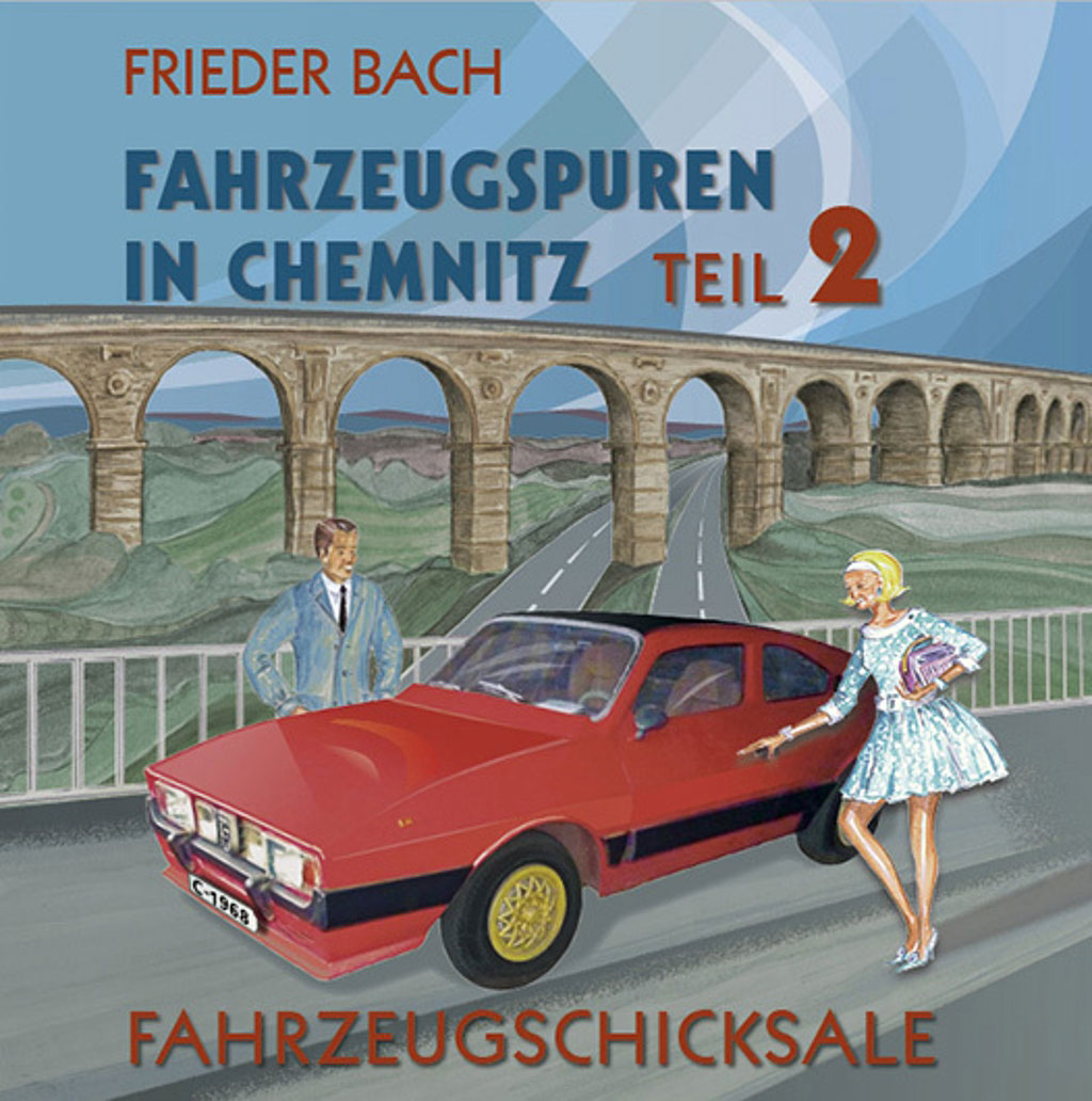 Fahrzeugspuren in Chemnitz Teil 2 Cover