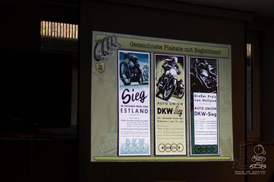 gezeigte Plakate