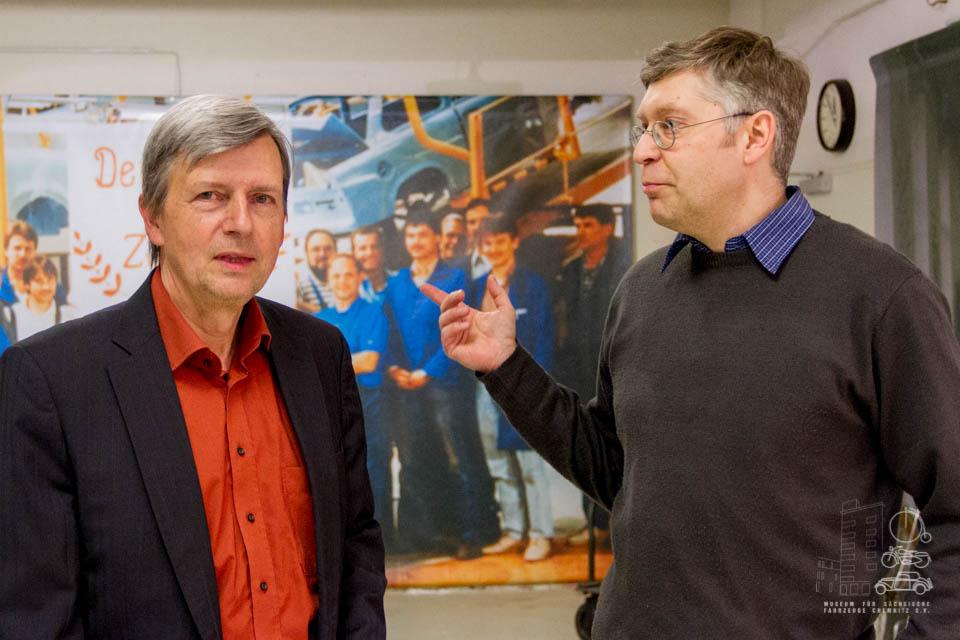 Dr. Christian Olbrich und Dirk Schmerschneider