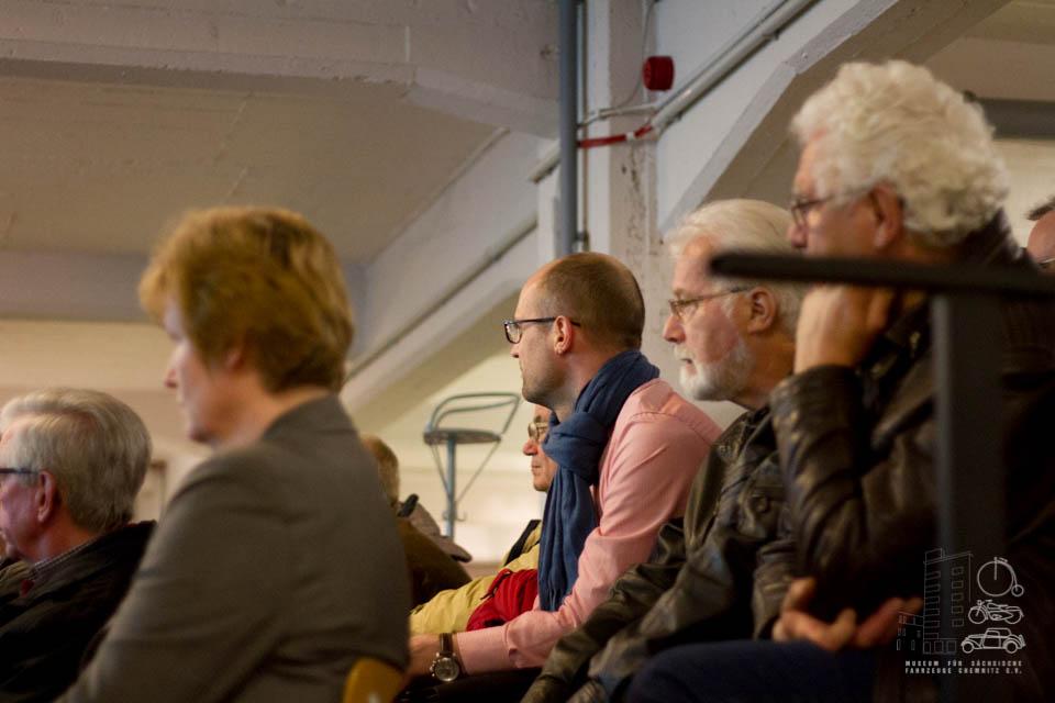 Zuhörer des Vortrags