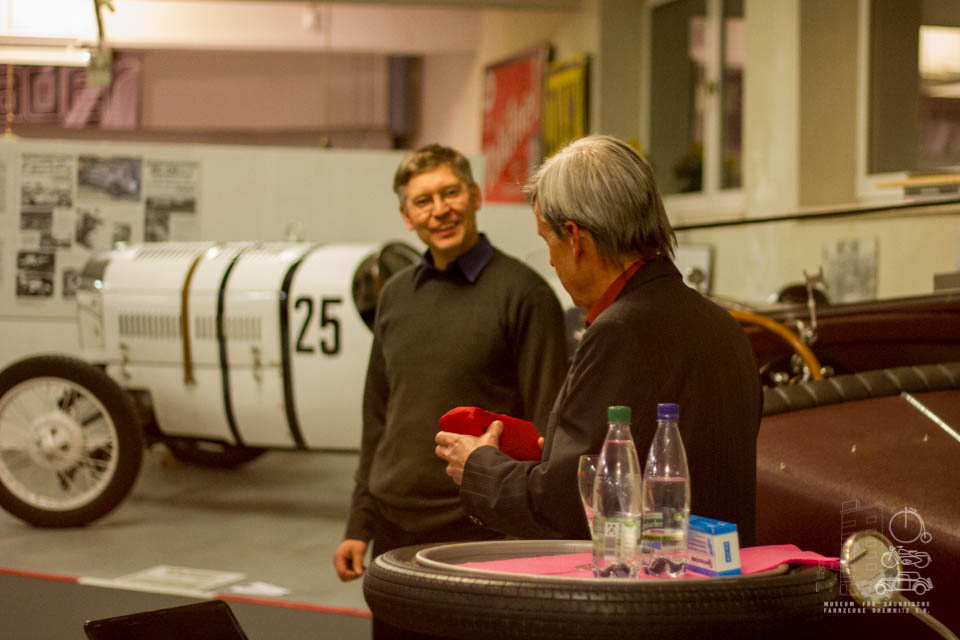 Dr. Christian Olbrich im Gespräch mit Dirk Schmerschneider