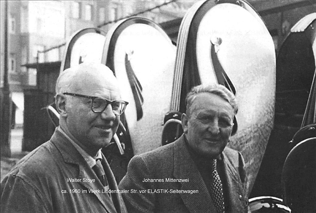 Walter Stoye und Johannes Mittenzwei