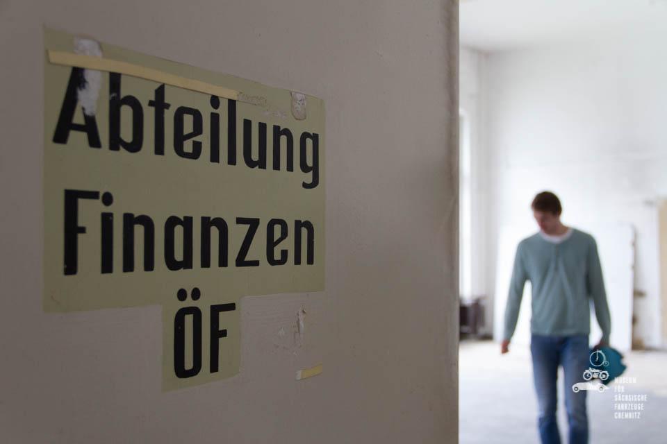 Wanderer Werk Abteilung Finanzen ÖF