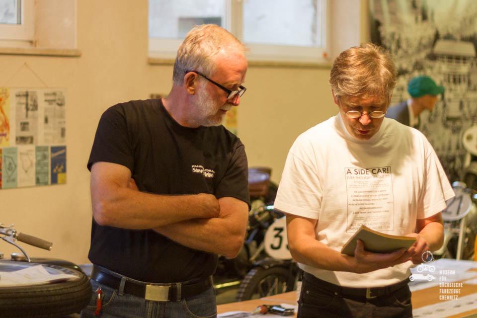 Claus Hüne und Dirk Schmerschneider