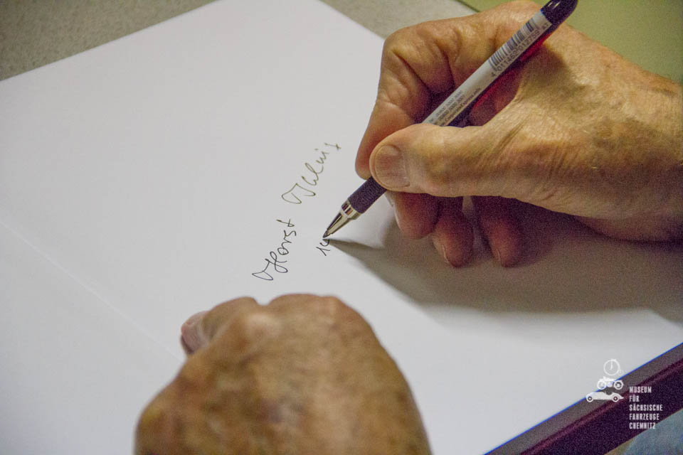 Unterschrift von Horst Ihling