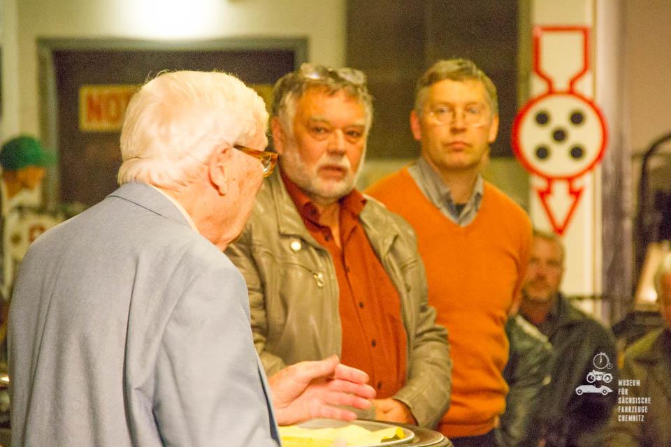 Horst Ihling, Frieder Bach und Dirk Schmerschneider