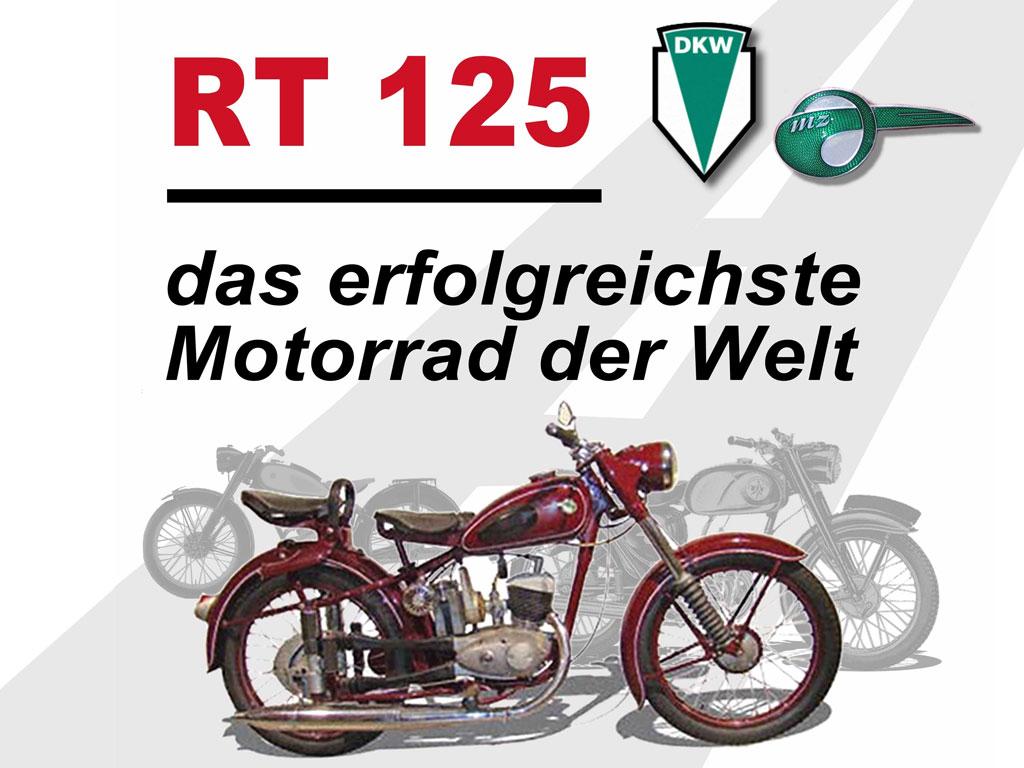 RT 125 - Das erfolgreichste Motorrad der Welt
