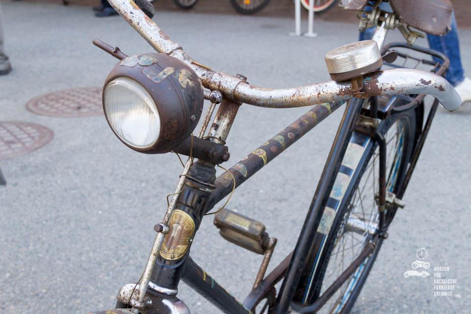 Nahaufnahme Fahrrad