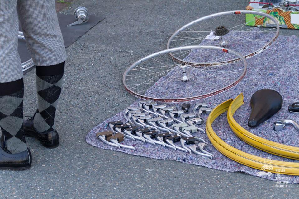 Nahaufnahme Fahrradteile