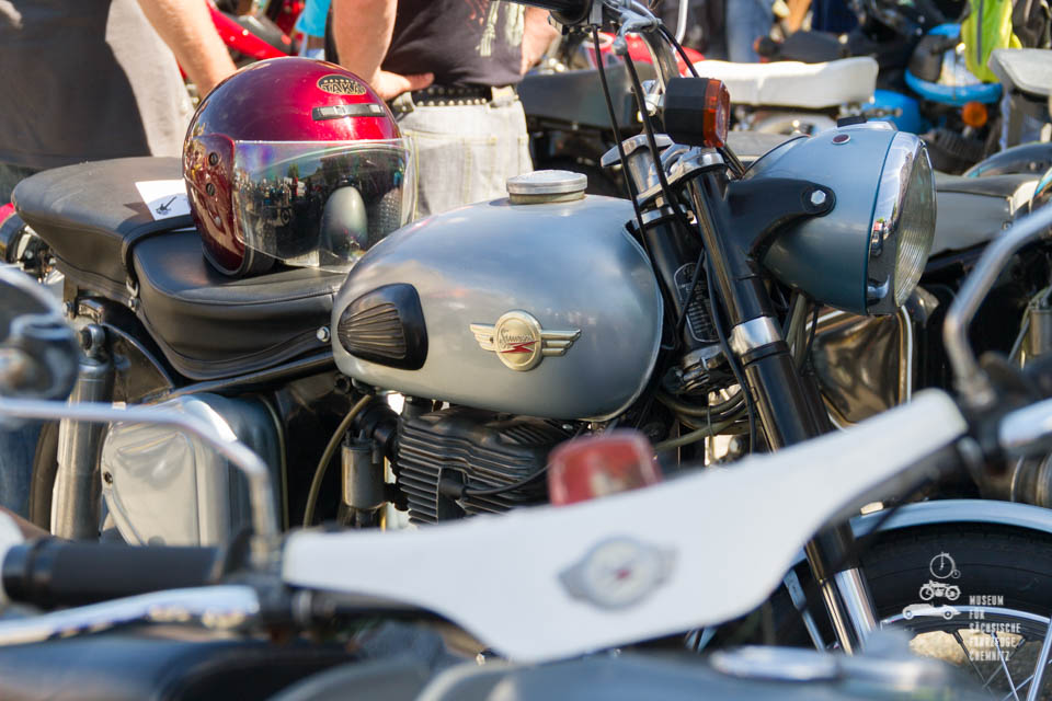 Nahaufnahme Motorrad