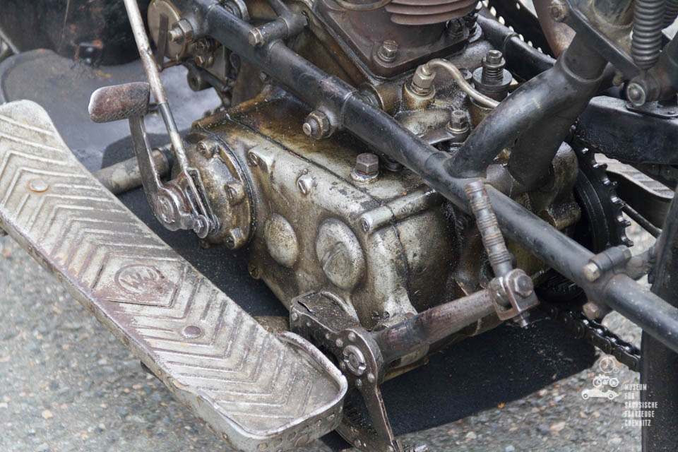 Nahaufnahme Motor