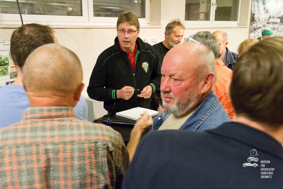 René Zapf im Gespräch