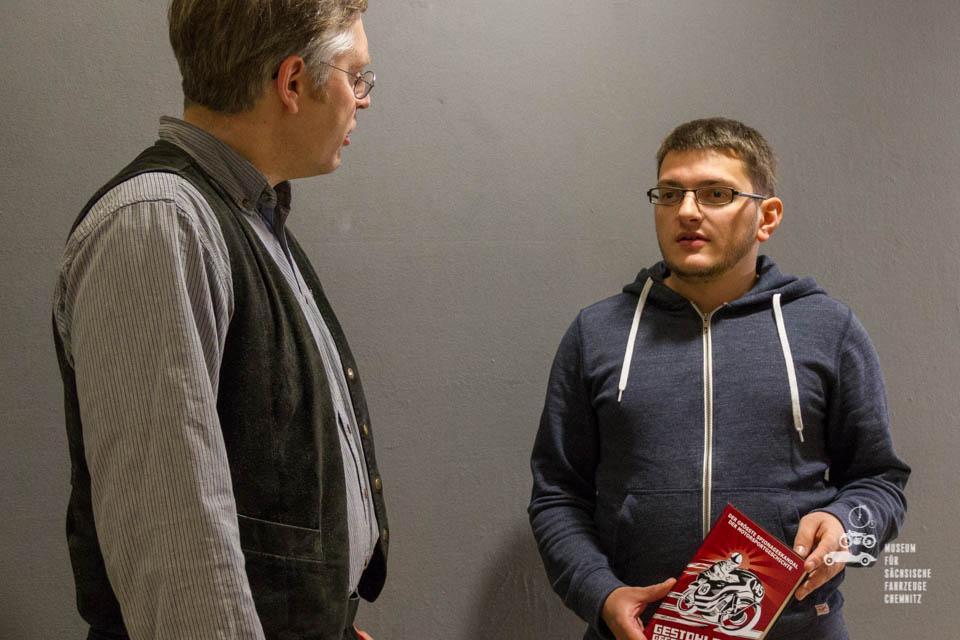 Andy Jordan im Gespräch mit Dirk Schmerschneider
