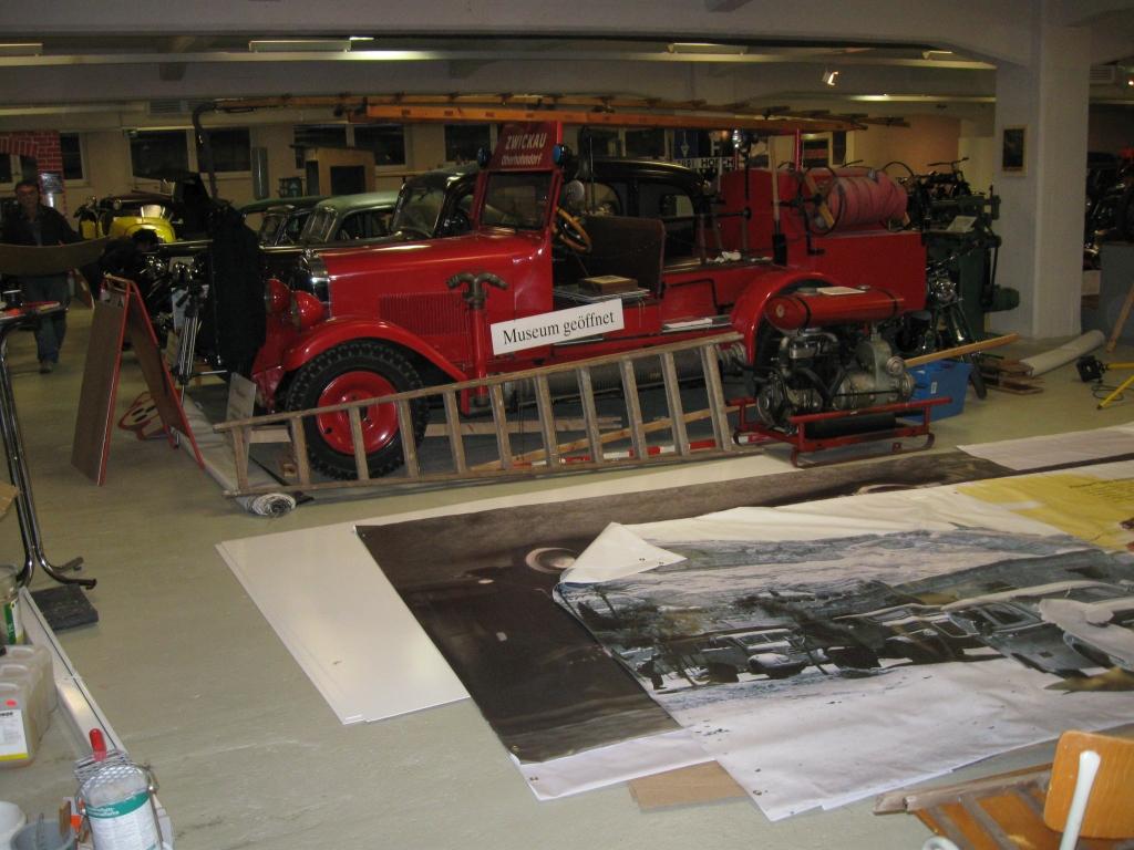 Chaos im Museum zum Umbau