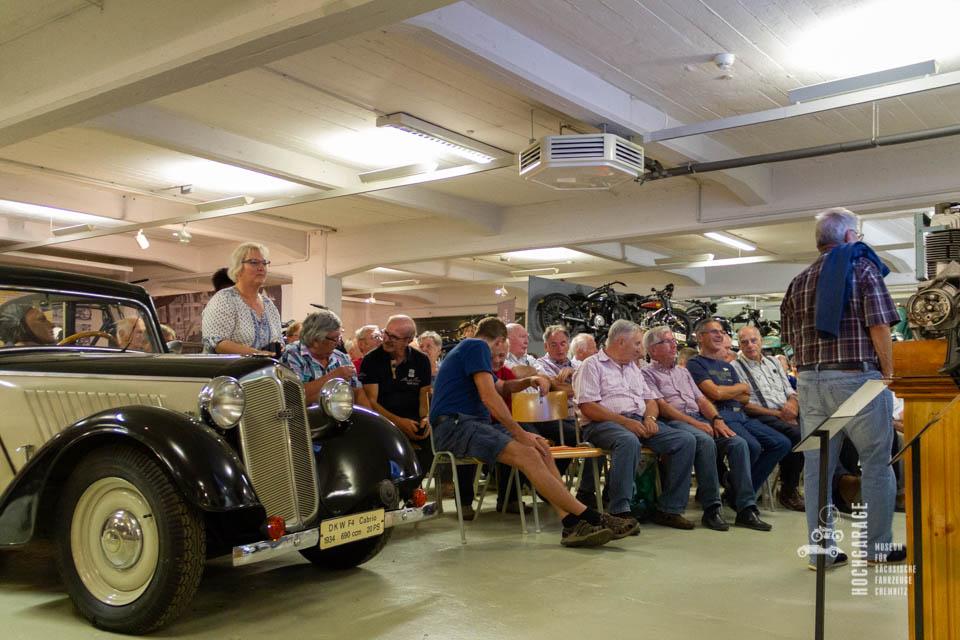 Zuschauer des Vortrages