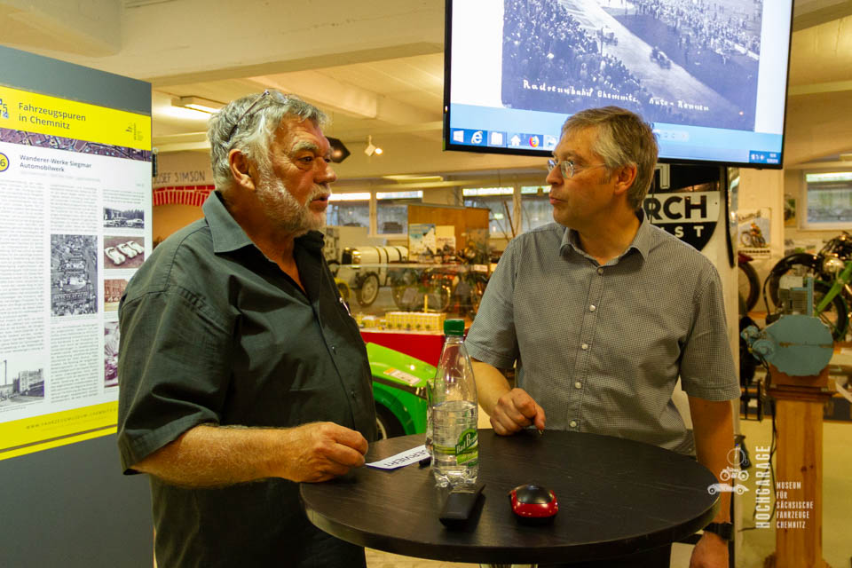 Dirk Schmerschneider im Gespräch mit Frieder Bach