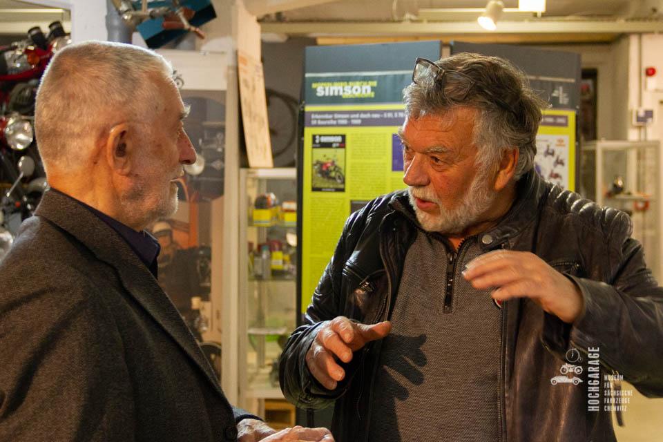 Karl Clauss Dietel im Gespräch mit Frieder Bach