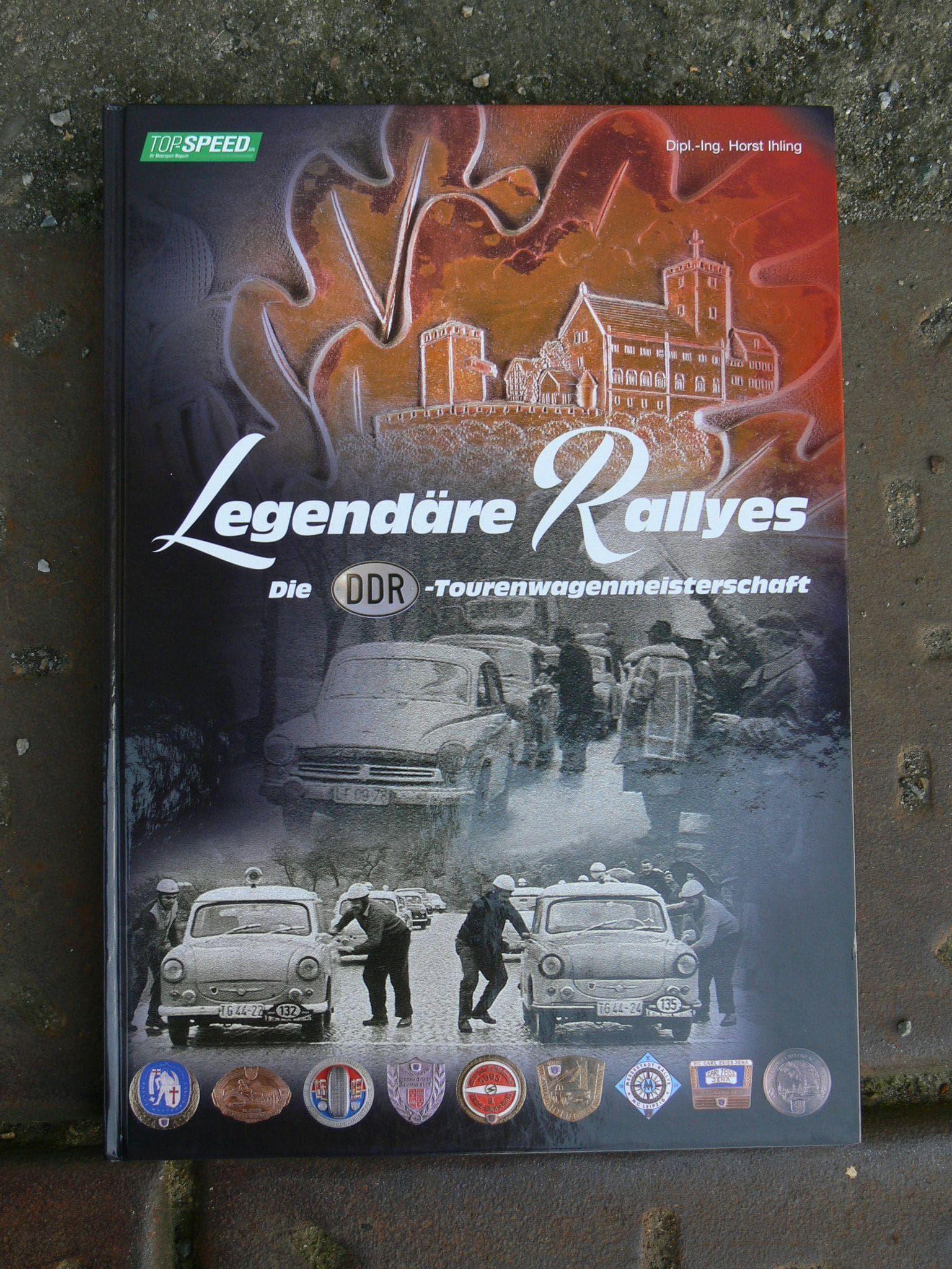 Buch Legendäre Rallyes