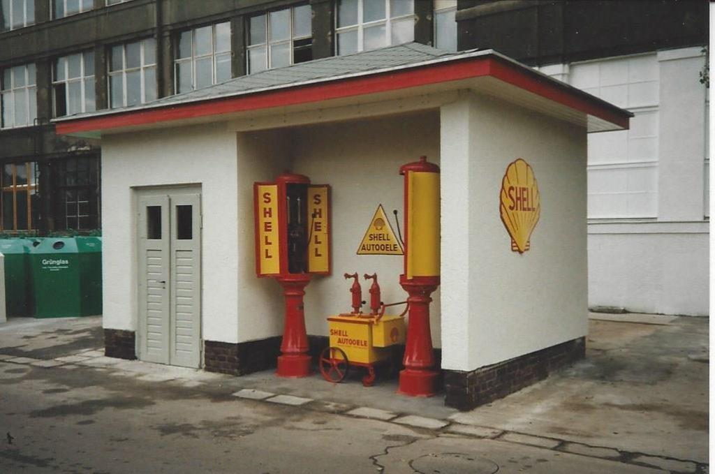 Shell Zapfsäule