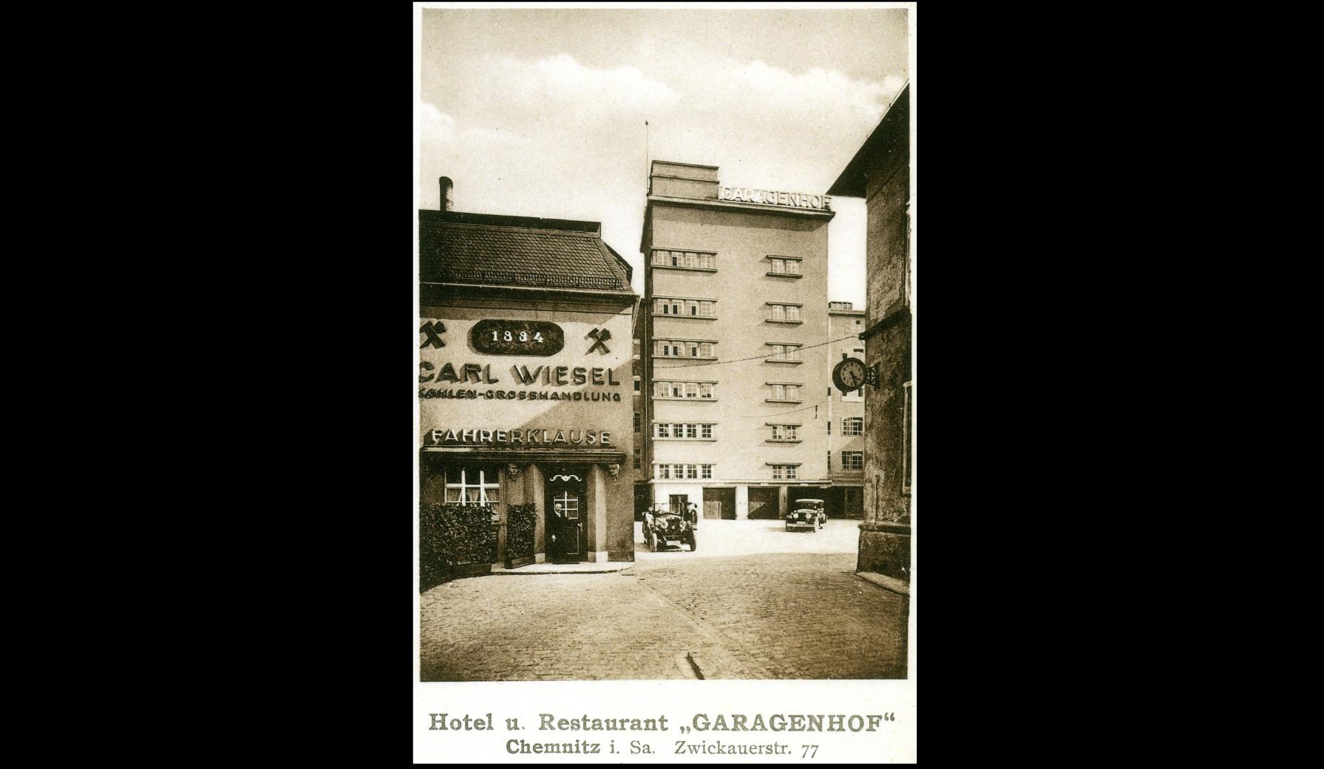 Hochgarage 1929