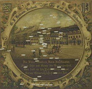 Zielscheibe 1909