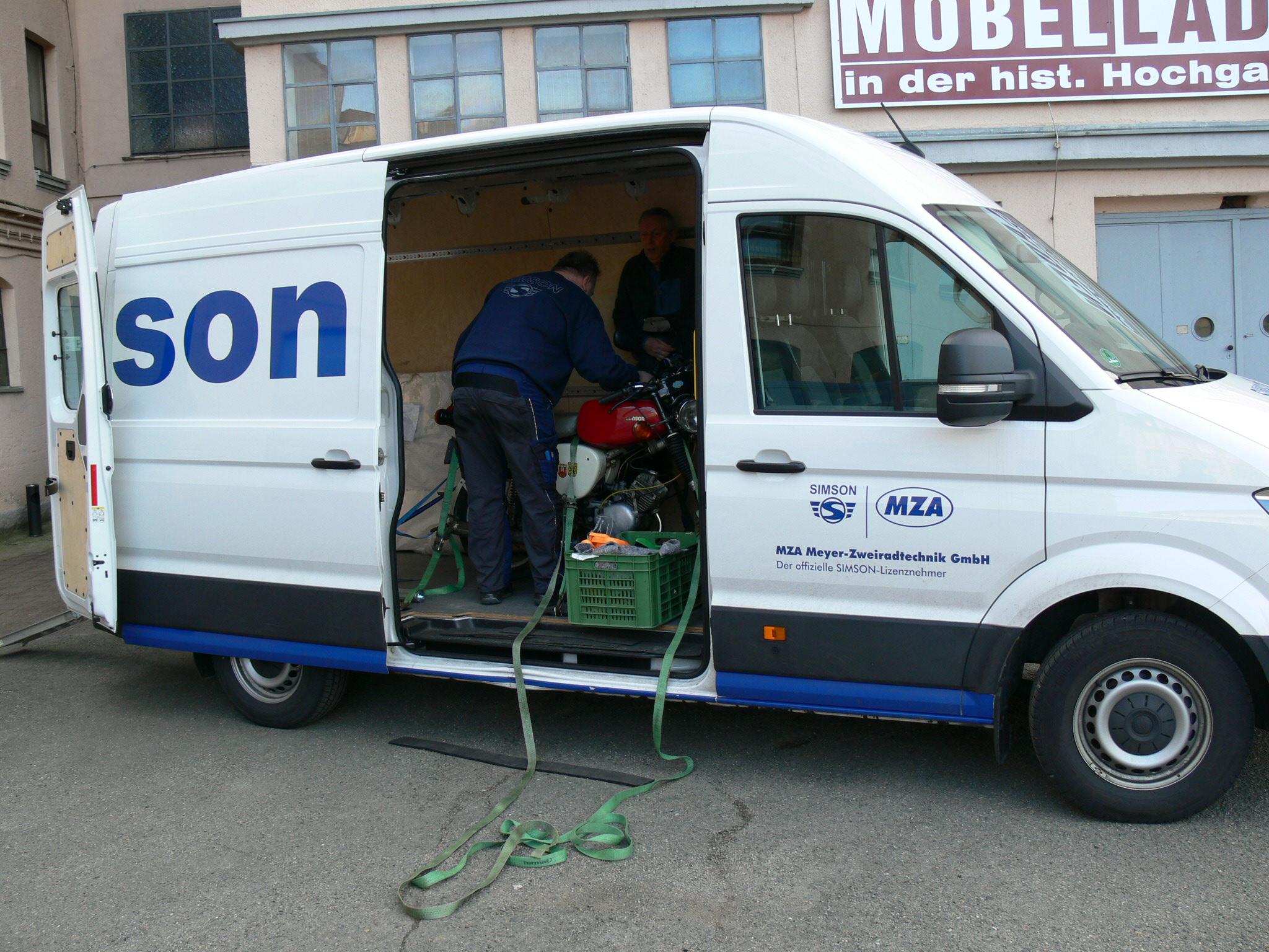 Simson Transporter