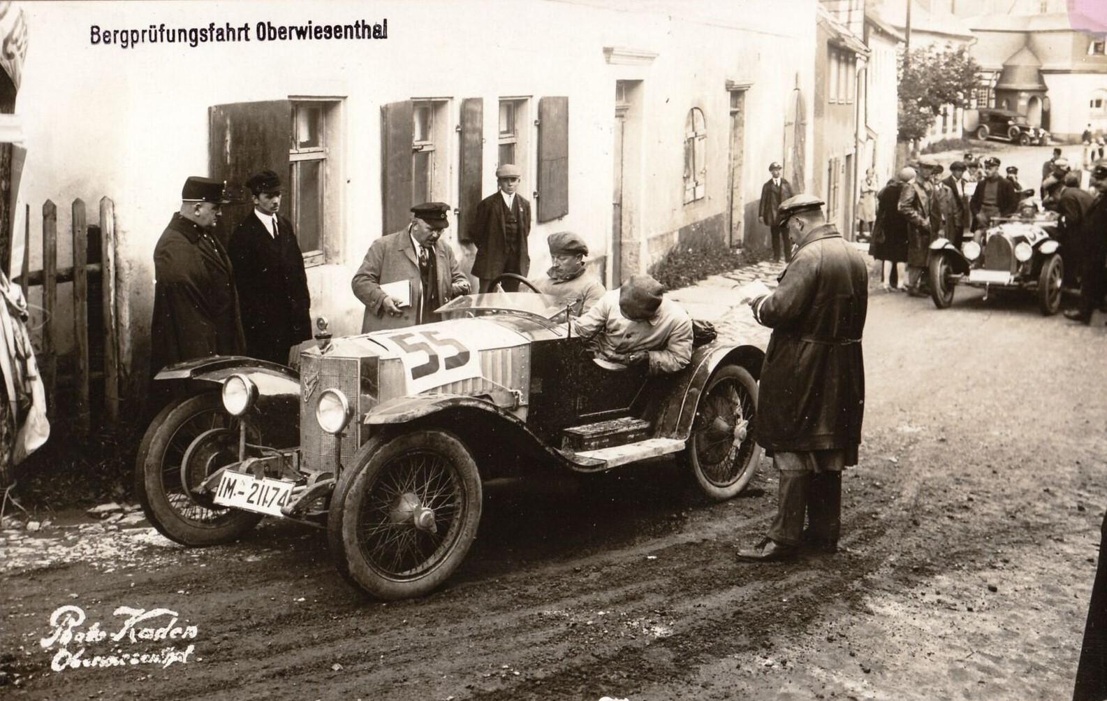 Fichtelberg-Prüfungsfahrt