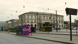 Heutiger Blick auf den Hauptbahnhof Chemnitz