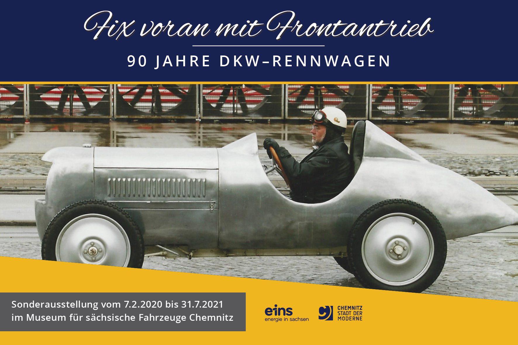 SonderausstellungFixvoranmitFrontantrieb–JahreDKW Rennwagen