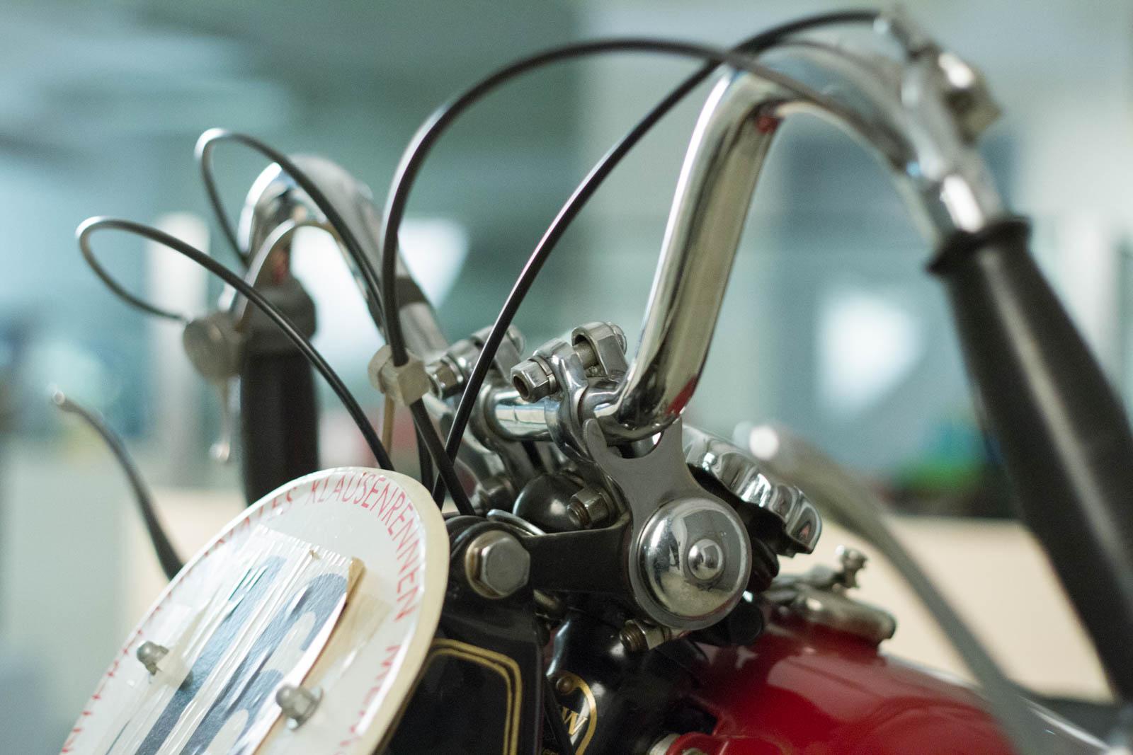 DKW Motorrad Lenker
