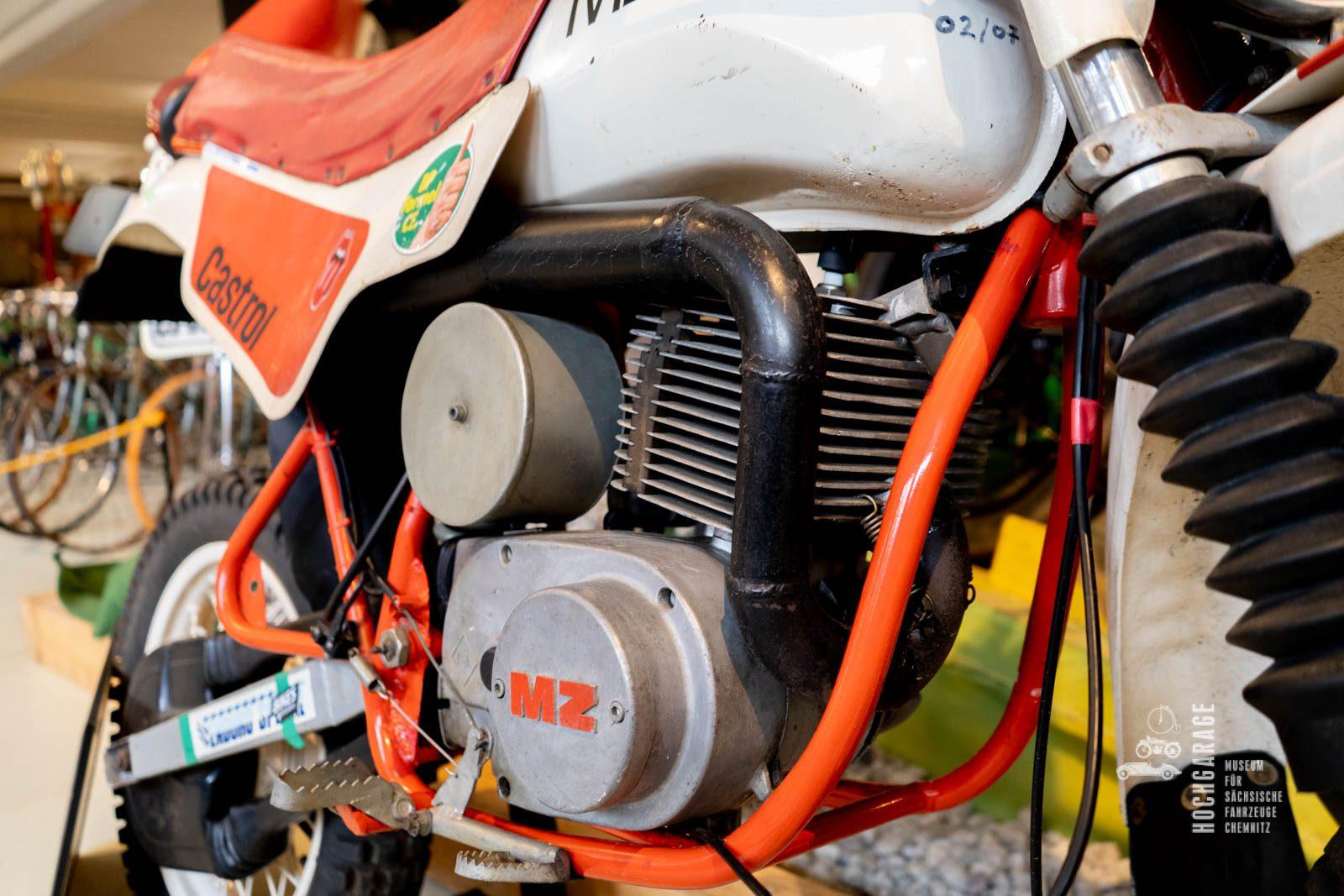 Motor Motorrad Enduro Melkus von 1988