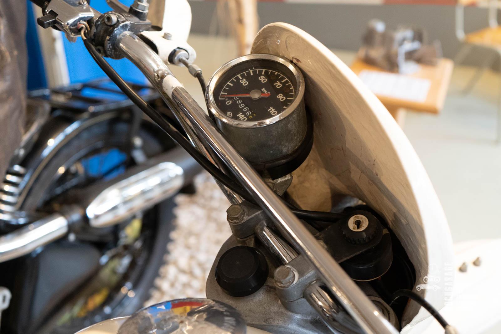 Lenker Motorrad Enduro Melkus von 1988