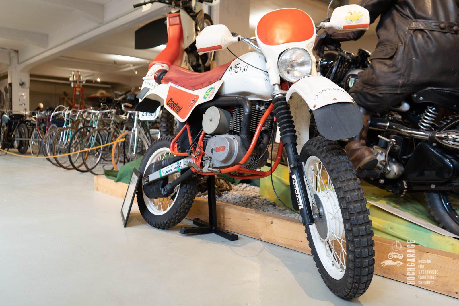 Motorrad Enduro Melkus von 1988
