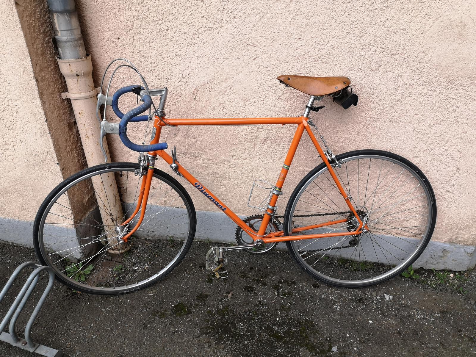 Ein Diamant-Rad zum Fahrradfest
