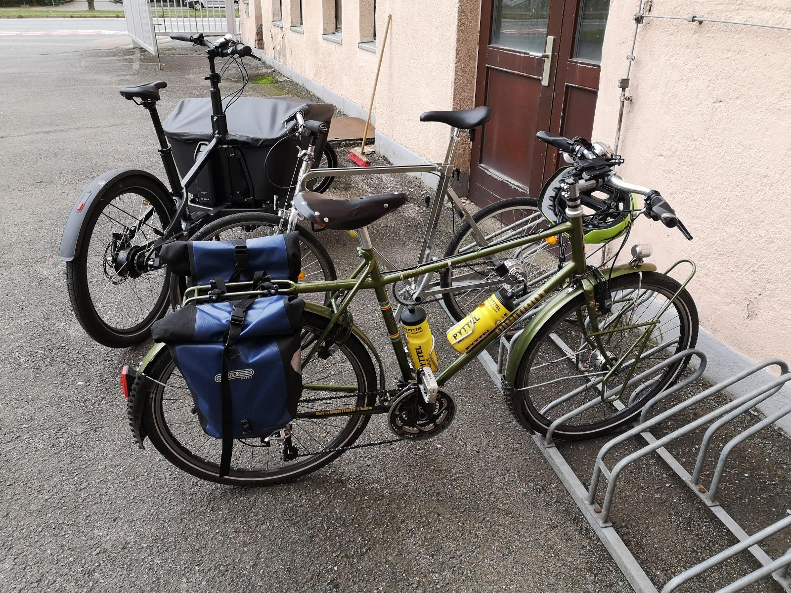 Zwei Räder zum Fahrradfest